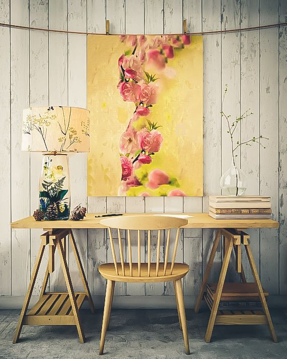 Large wall art Large Ready to hang Stretched Canvas wall art ...