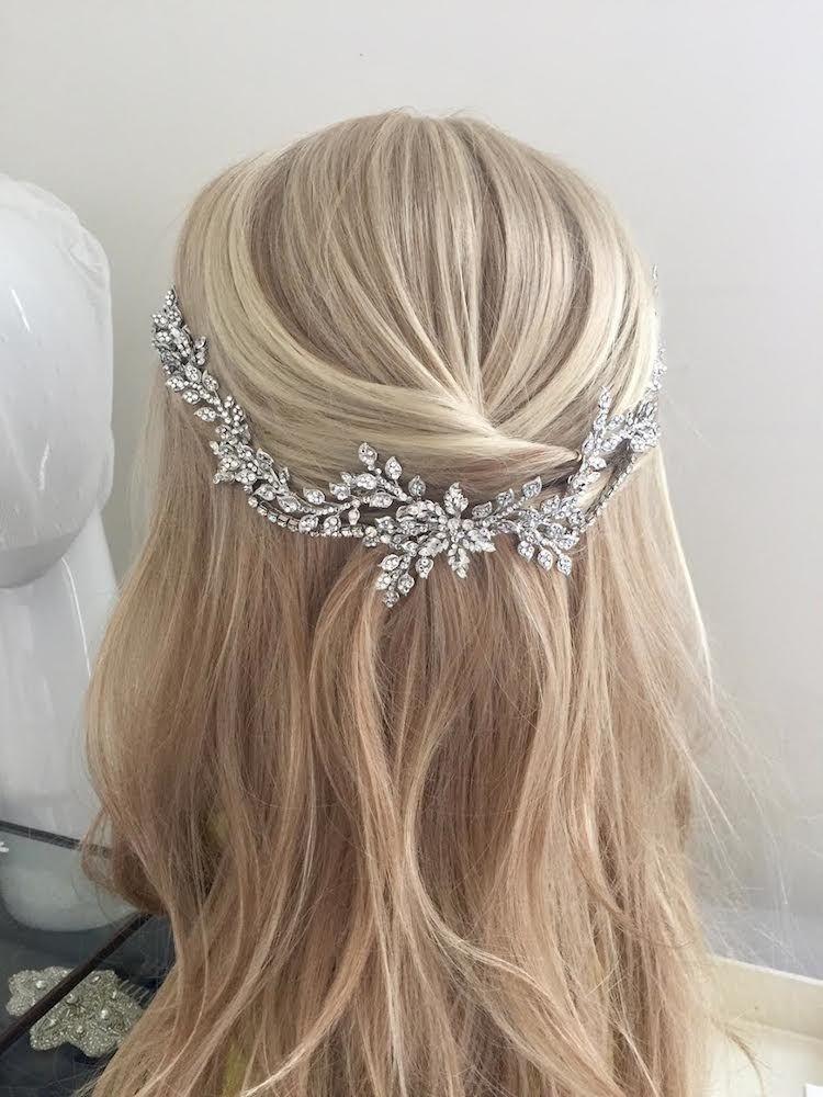 Lovely crystal bridal hair vine | Beautiful Wedding Stuff ...