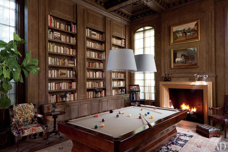 Old English Library Decor ben soleimani's airy beverly hills residence | architectural