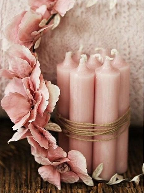 Craft Projects Pink Glassware Purple Rose Decals Furniture Red Pottery Decorate Flame-less Candles Wood Home Decor Burgundy