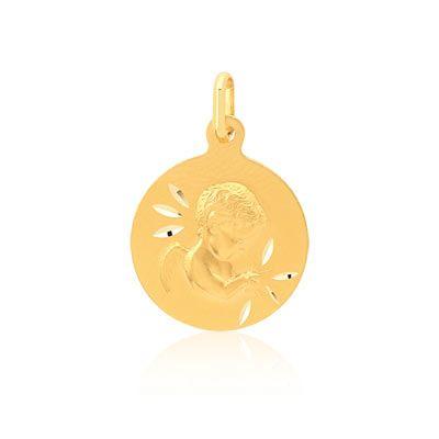 #MÉDAILLE or 750 jaune #MATY #Bijoux - www.maty.com