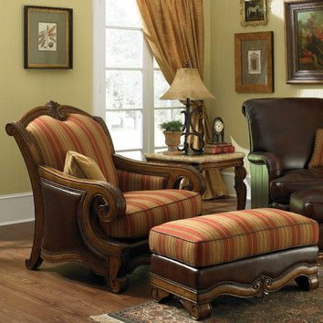 Michael Amini Toscano Leather Chair And Ottoman Aico Furniture Chair And Ottoman Set Chair And Ottoman