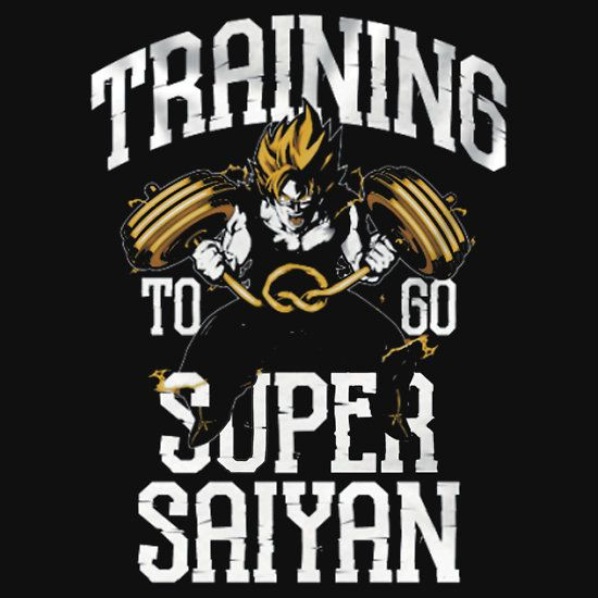 Training to go super saiyan dise os pinterest for Gimnasio 5 dragones