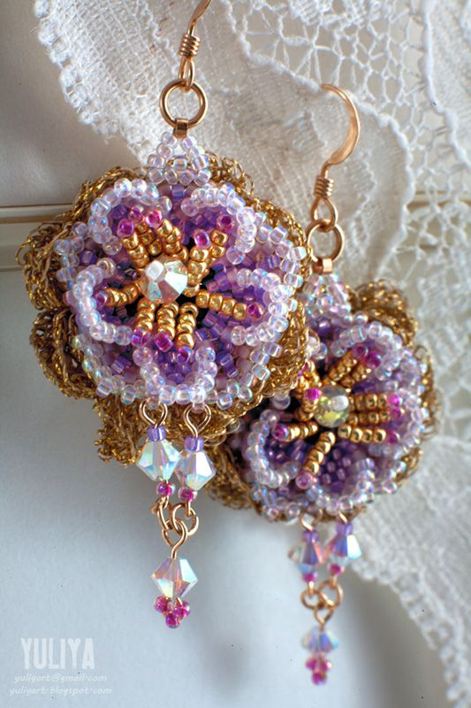 EyeCandy - Beautiful Beaded Jewelries from Golden Section featured in recent Bead-Patterns.com Newsletter!