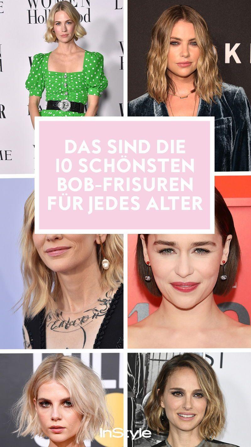 Trend Frisur Die 10 Schonsten Bob Styles Die In Jedem Alter Genial Aussehen In 2020 Bob Frisur Frisuren Bob