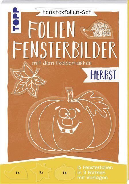 "Kreativ-Set ""Folien-Fensterbilder"" Herbst"
