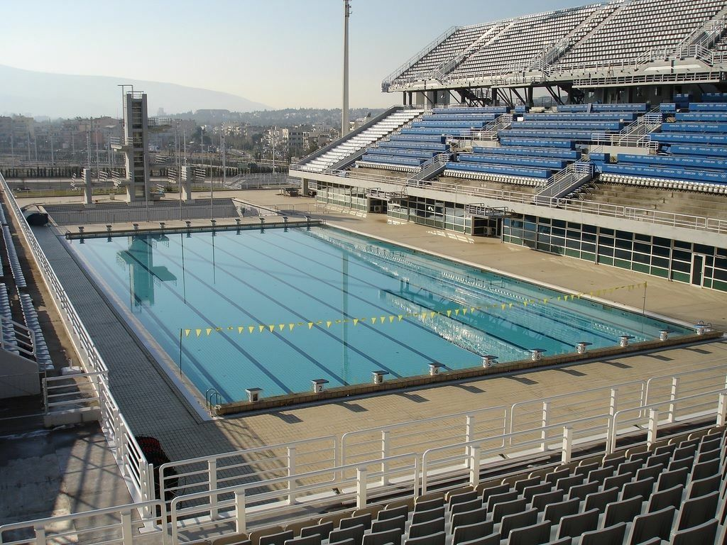 The Athens Olympic Stadium Swimming In 2020 Swimming Pool Designs Pool Swimming Pool Size