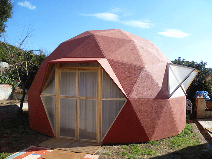 Pin de inajara mundim en casas en 2019 casa geodesica - Casas geodesicas ...