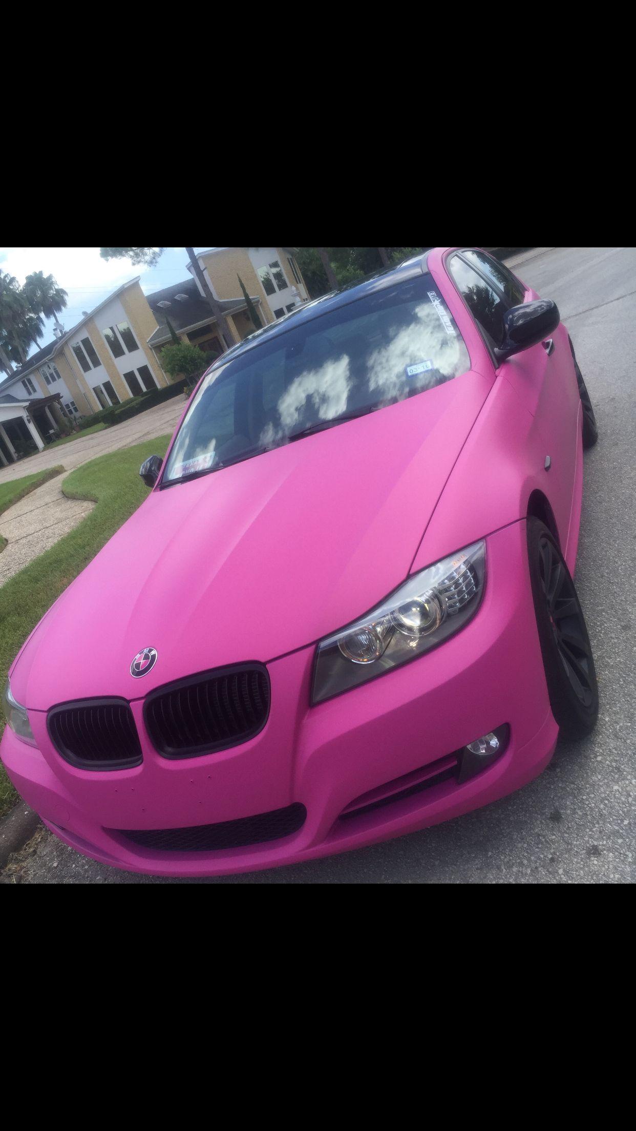 My pink bmw