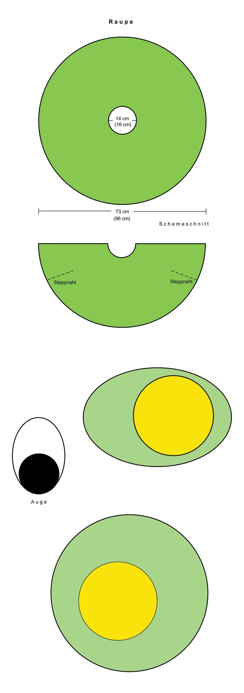 Attractive Nähen Umhang Muster Elaboration - Decke Stricken Muster ...