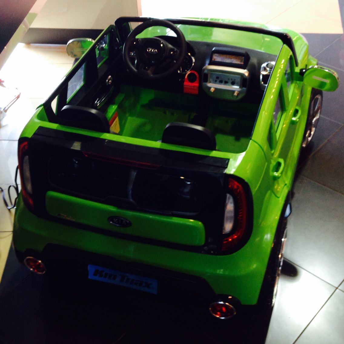 kia soul electric kids car