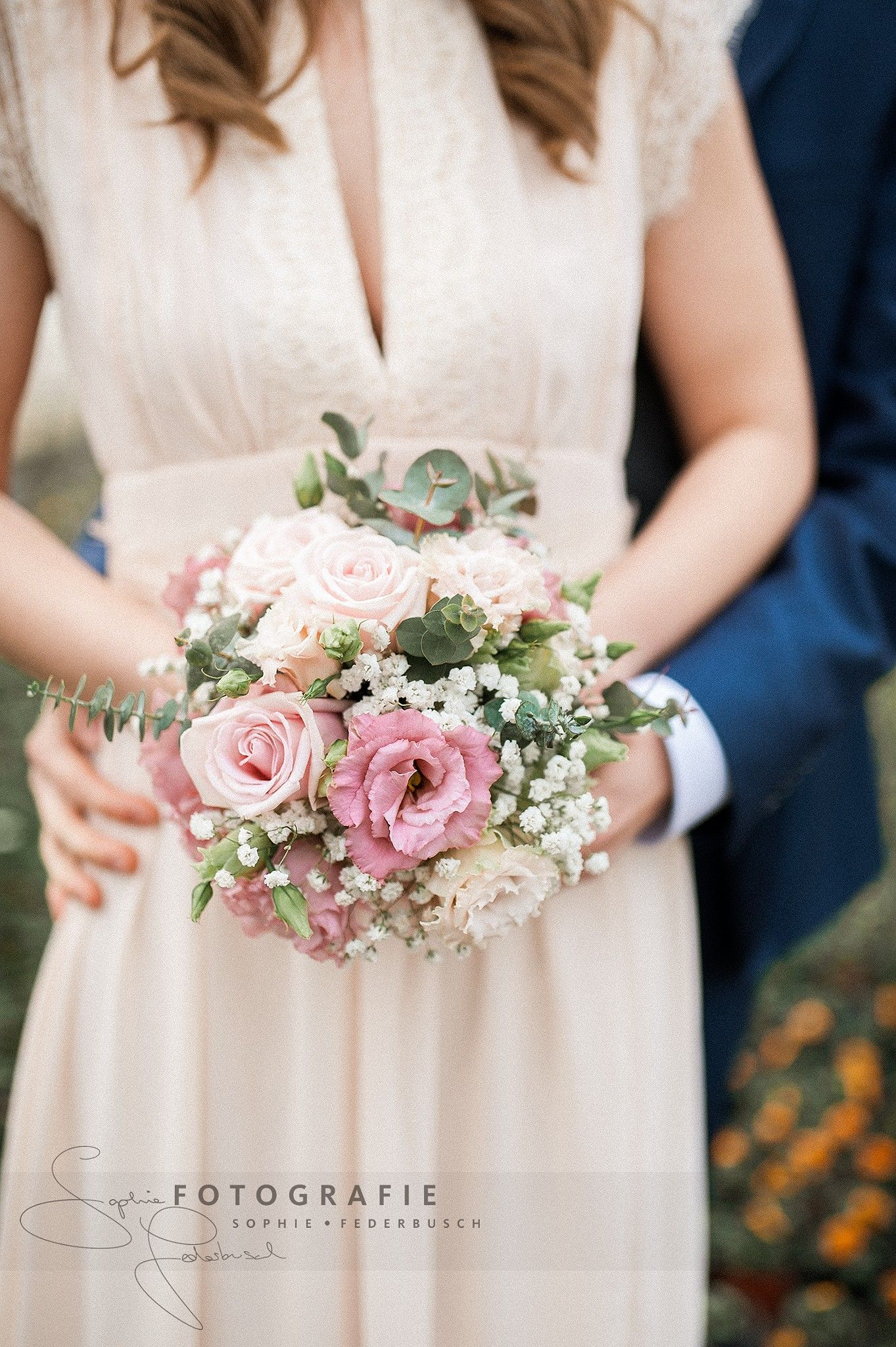 Wedding bouquet, vintage boho wedding