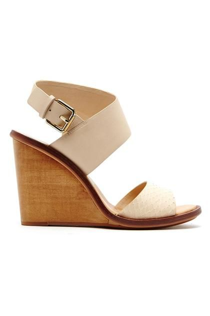 Graduating on grass? We have a shoe for every graduation outfit—Dolce Vita wooden wedges