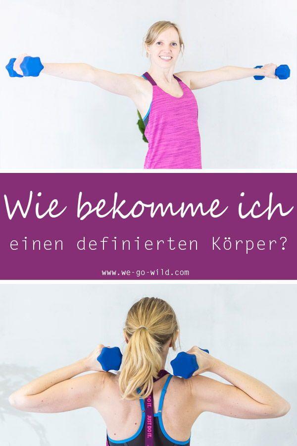 Muskelmasse-Diät der Frau