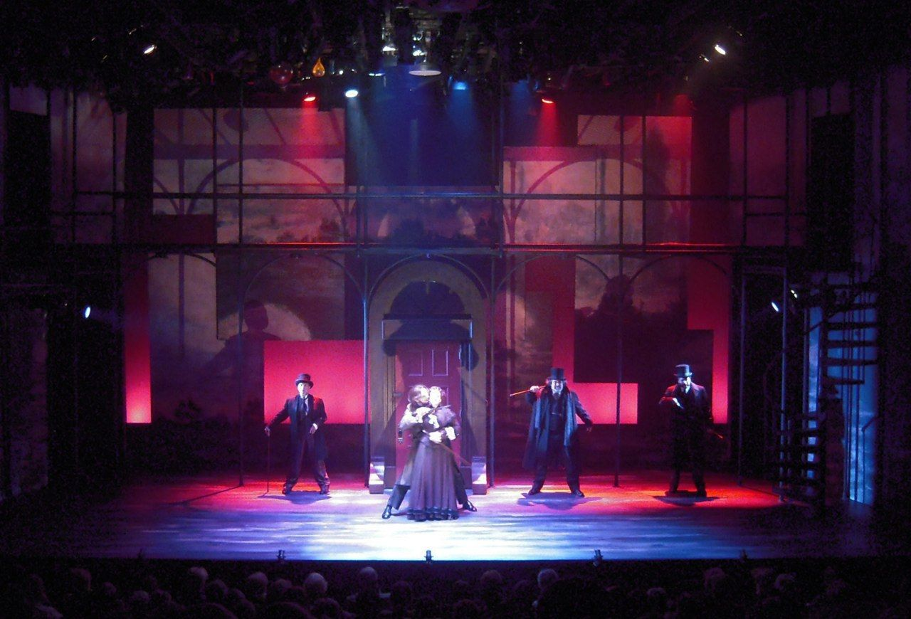 Dr Jekyll And Mr Hyde At City Theatre Pittsburgh Pa Fantastic Production Loved The Set Scenic Design Set Design Theatre Stage Design
