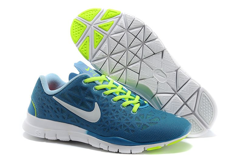 competitive price 78889 6c2bc Womens Nike Free TR Fit 3 Breathe Sport Turquoise Volt Ice Blue White  Training Shoes