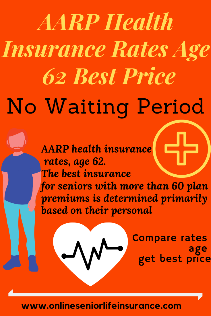 Aarp Health Insurance Rates Age 62 Best Price No Waiting Period