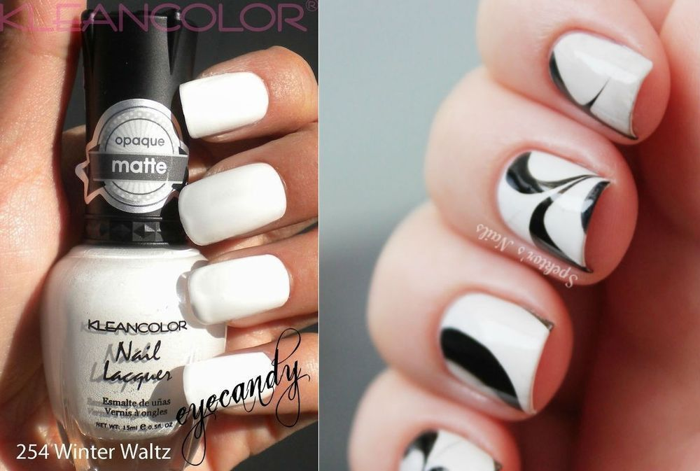 New Kleancolor Winter Waltz Nail Polish Lacquer Opaque Madly Matte ...
