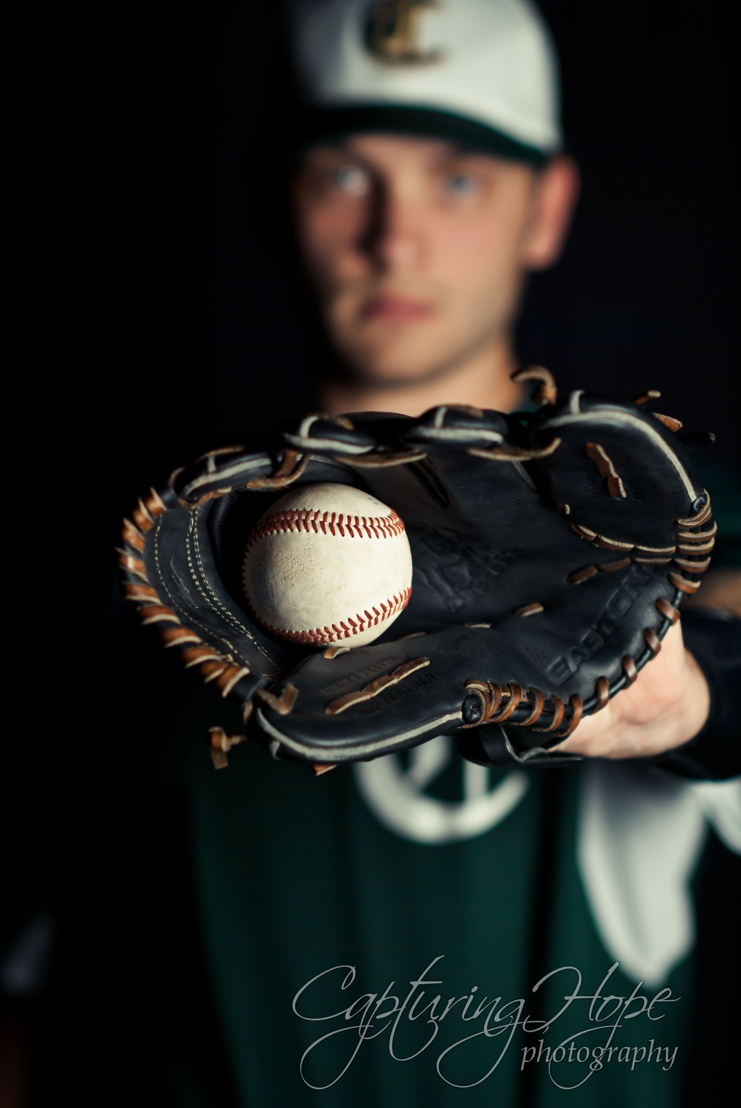 Senior Pictures With Baseball Theme Where This Senior Was