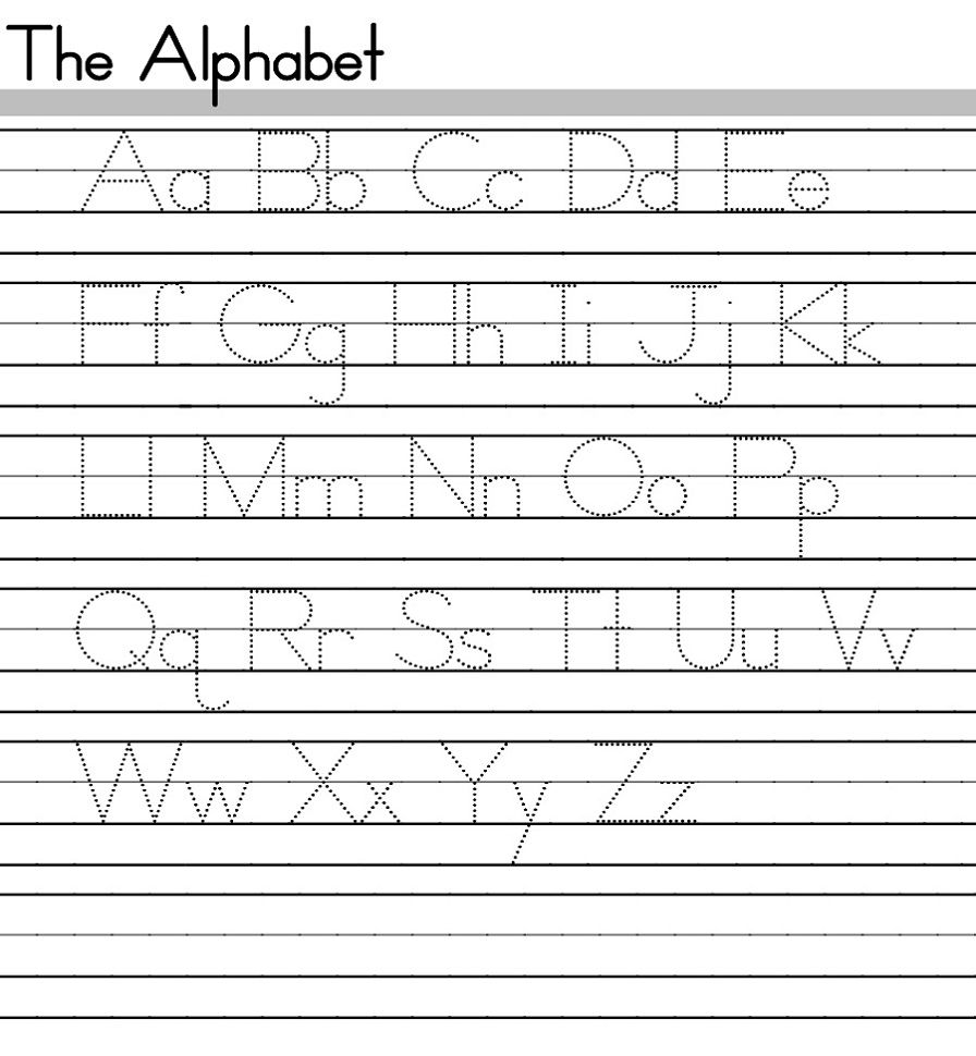 Abc Tracing Sheets In 2020 With Images Alphabet Worksheets