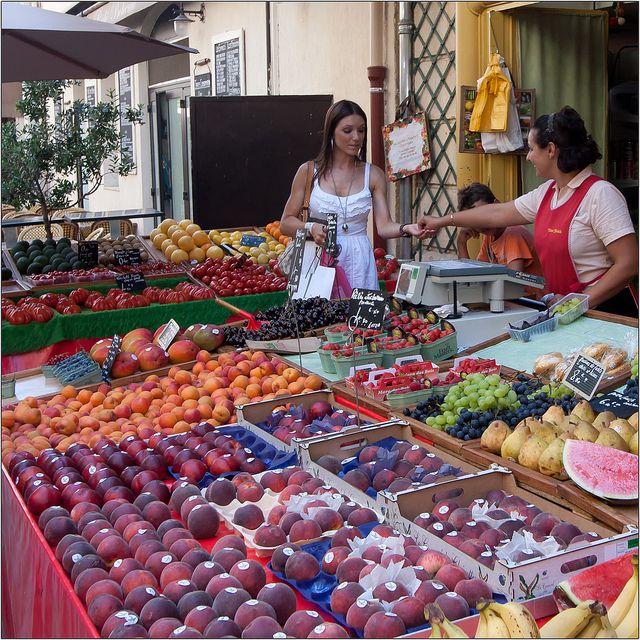 Summer Fruits by PHLB - Luc B, via Flickr  Antwerp, Belgium