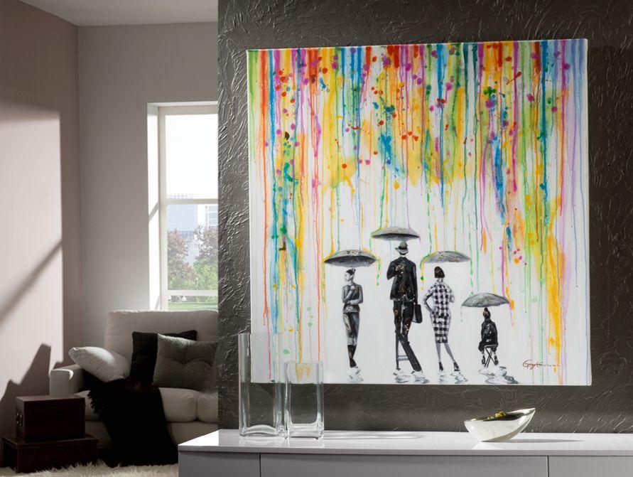 Cuadros acrilicos lluvia decoracion beltran tu tienda en - Cuadros decoracion salon ...
