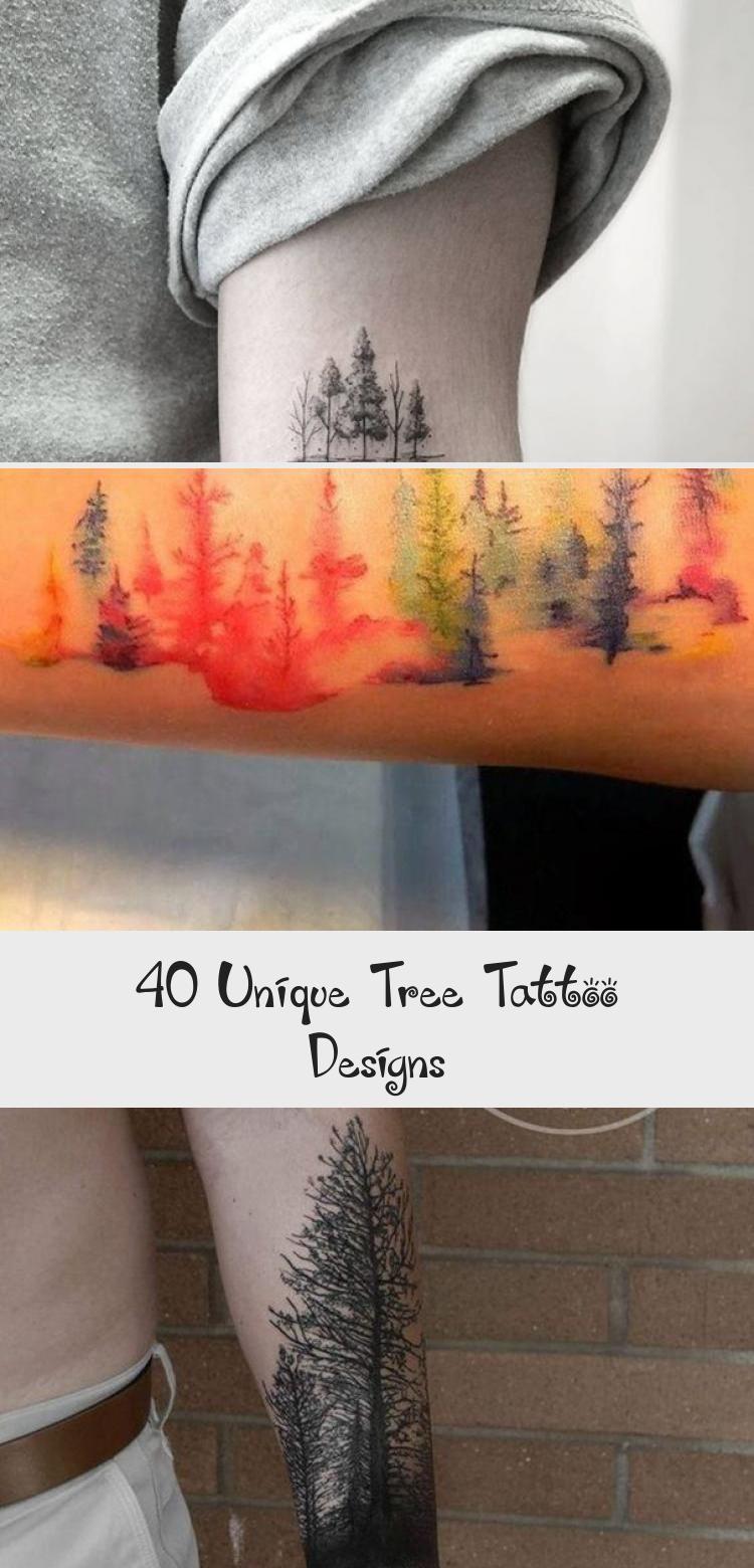 Photo of 40 conceptions uniques de tatouage d'arbre – Blog de tatouage