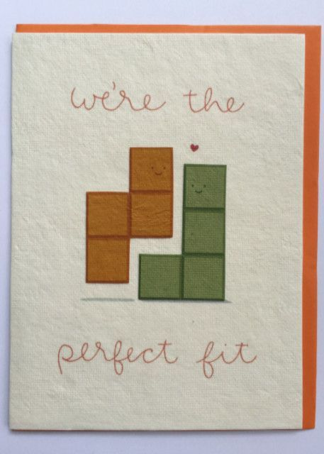 Tetris greeting card ready player one pinterest cards card looking for an ethical way to send your love our line of fair trade greeting m4hsunfo