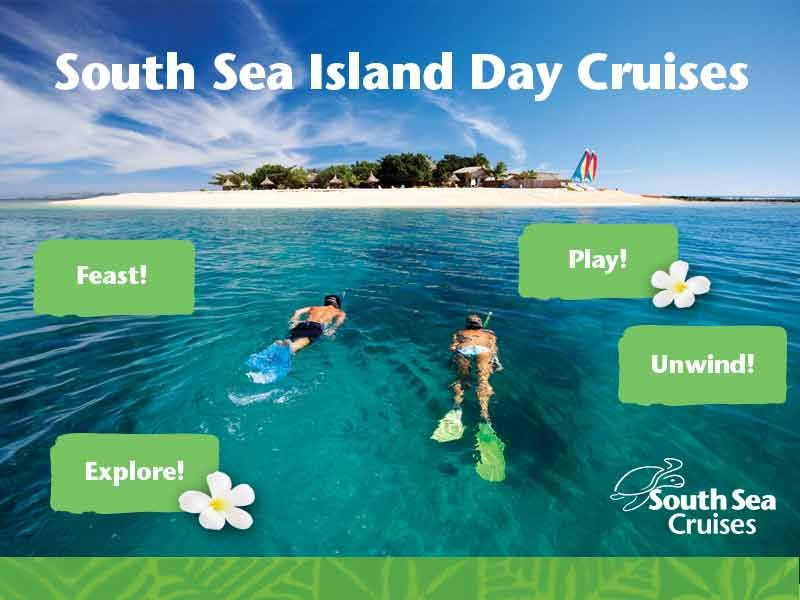 #Gorgeous #little #South #Sea #Island is one of the #treasures of the #Mamanuca Islands. Crystal #clear #waters, #coral #reefs and thousands of #colourful #tropical #fish surround the tiny island.  - See more at: http://www.ssc.com.fj/day-cruises/south-sea-island/#sthash.S7ZbiewZ.dpuf