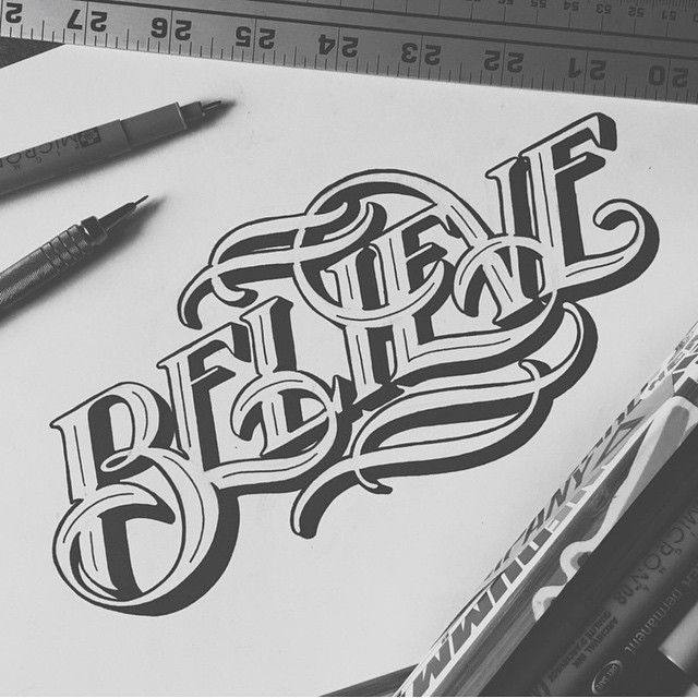 Typography Inspiration, Lettering