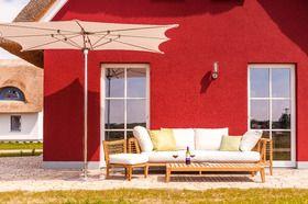 Teak sofa outdoor setting