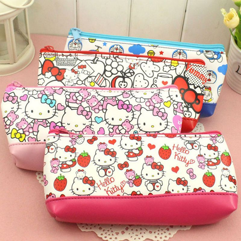 Cheap cosmetic bag, Buy Quality cosmetic bag makeup case directly from  China makeup case Suppliers  Women Portable Cute hello kitty Multifunction  Beauty ... 5efe6ddff6
