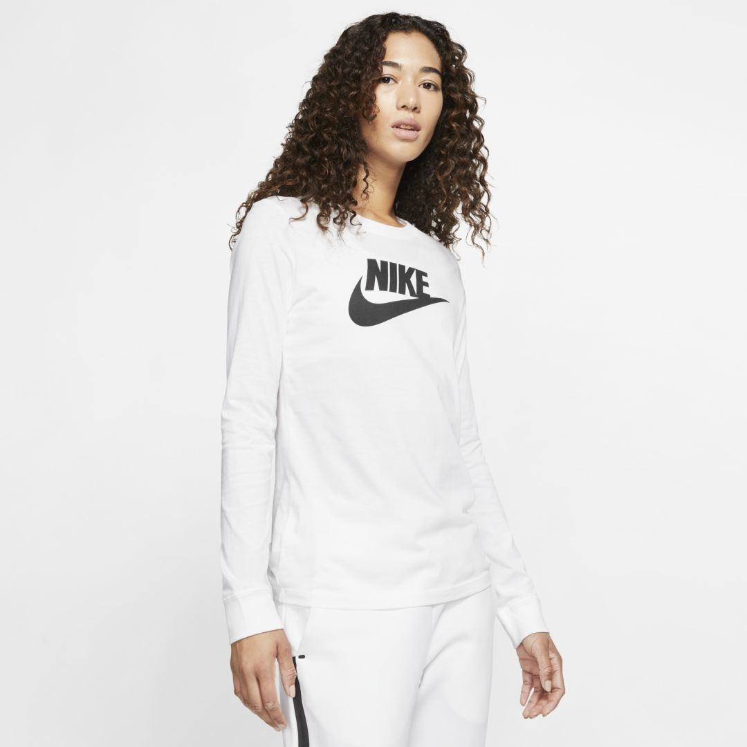 Photo of Nike Sportswear Women's Long-Sleeve T-Shirt. Nike.com