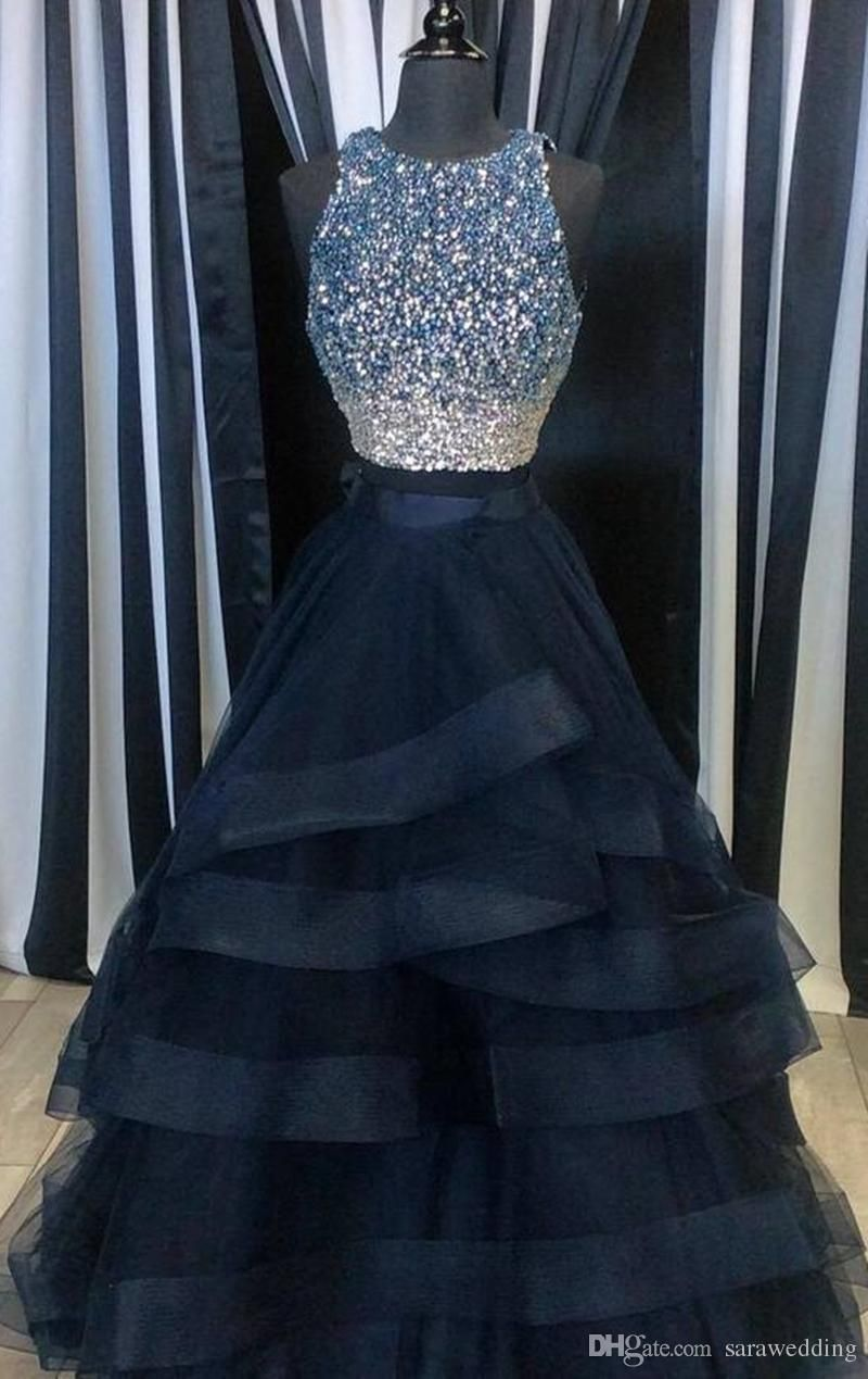 Prepare The Petite Prom Dresses Uk For The Upcoming Prom Then You Need To See Jewel Neck Beaded Crys Piece Prom Dress Cute Prom Dresses Prom Dresses Ball Gown