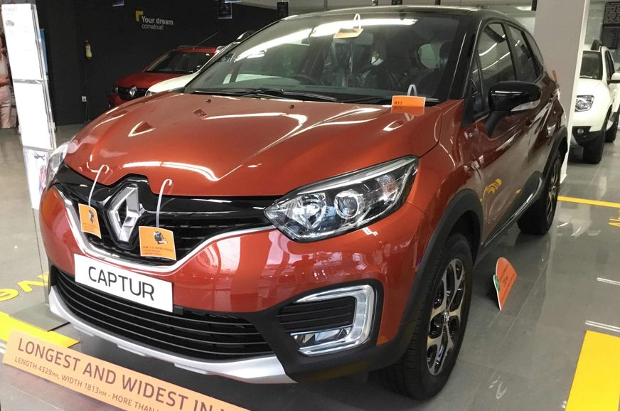 Renault Captur Now Gets Over Rs 3 Lakh In Discounts Ford