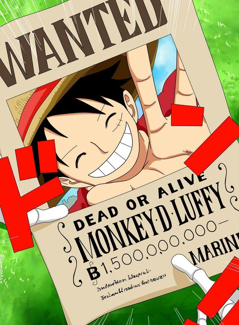 Monkey D Luffy bounty | Luffy bounty, Luffy, Big mom pirates