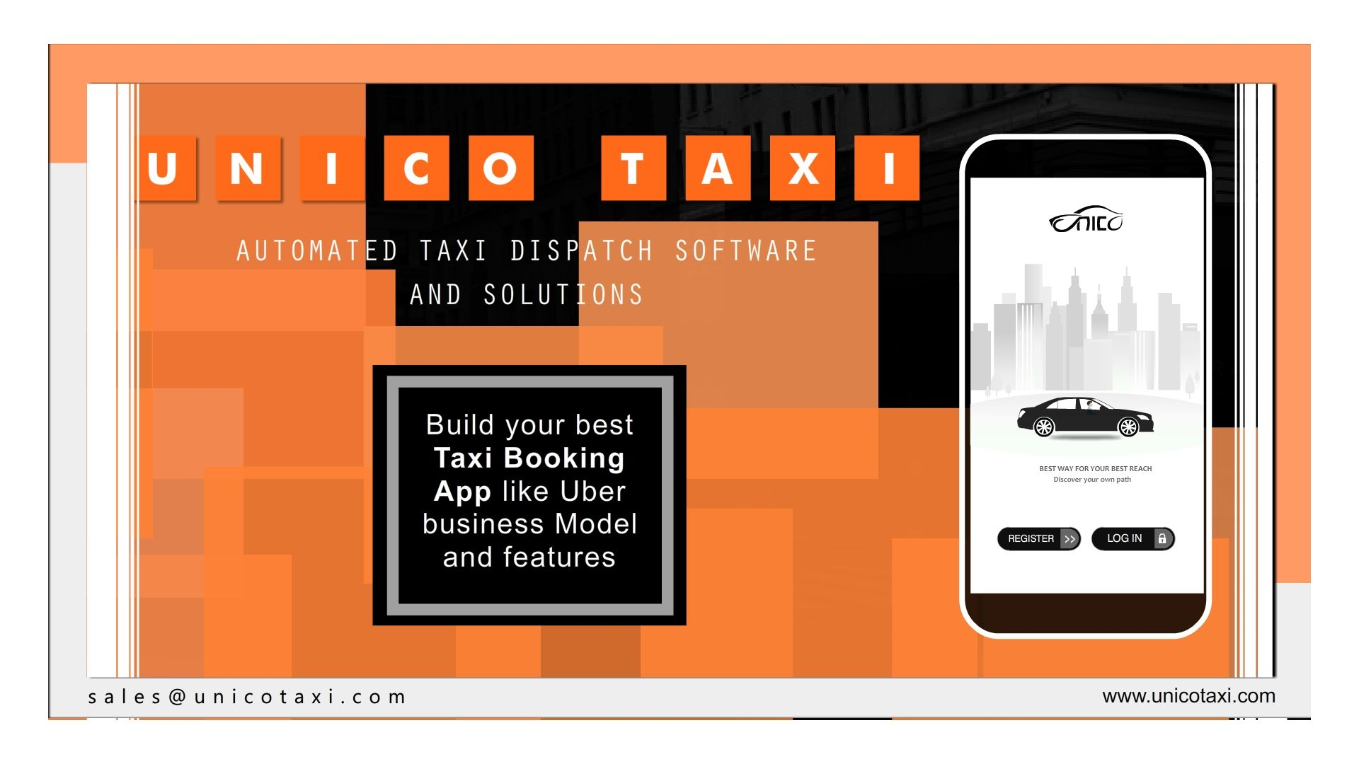 UNICO Taxi - The Best Taxi Solution with Versatile and Cost