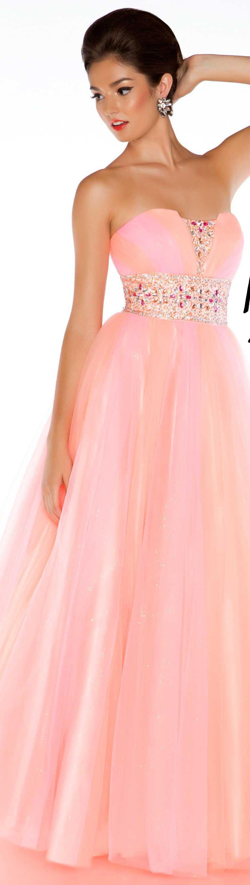Soft Romantic Notions - Mac Duggal couture dress | Soft Romantic ...