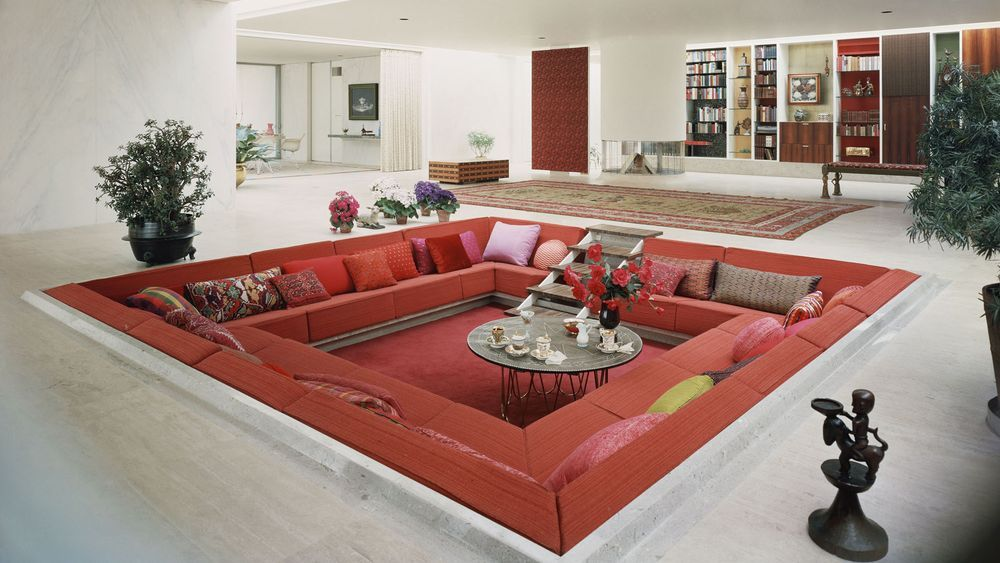Aka   Sunken Living Room From The 60s 70s  Juliette. How Quirky Enclosed