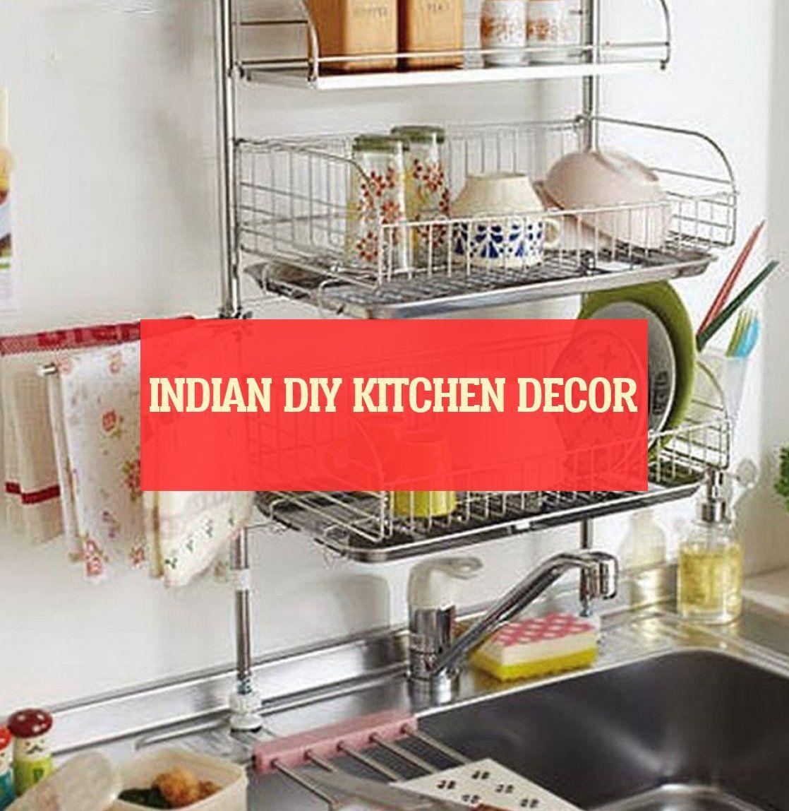 Indian diy kitchen decor ; indische diy küche dekor #Indian ...