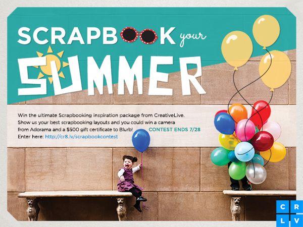 Summer Scrapbooking Ideas -- Plus, a Contest