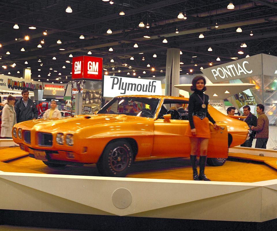 1970 Pontiac Orbit Orange | Classic cars muscle, Vintage muscle cars ...