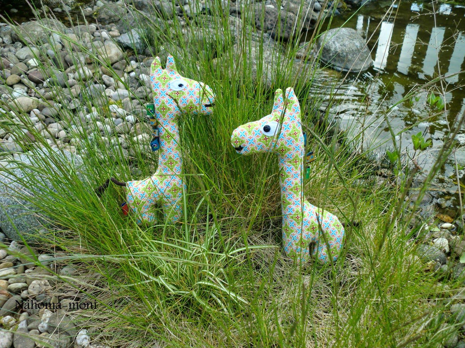 Giraffe ein kostenloses Schnittmuster zum herunterladen | Giraffen ...