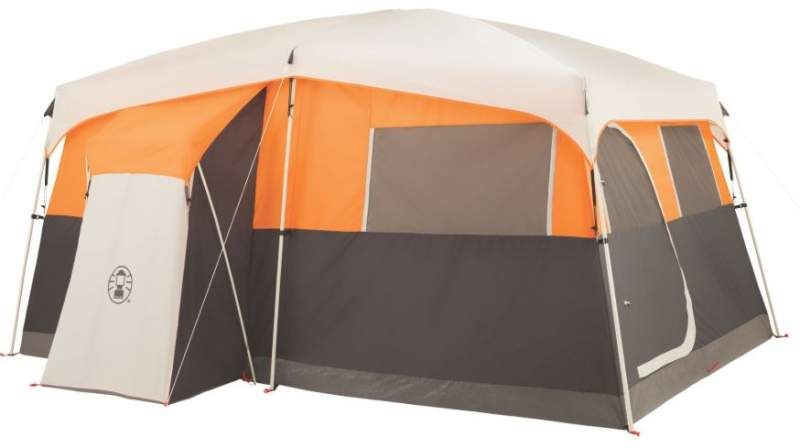 Coleman Jenny Lake 8 Tent Hinged Door Closet Fast Pitch In 2020 Best Tents For Camping Tent Tent Camping