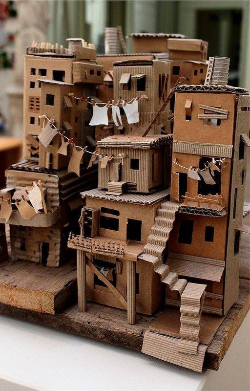 Pin By やま On ジオラマ Building Crafts Cardboard Art