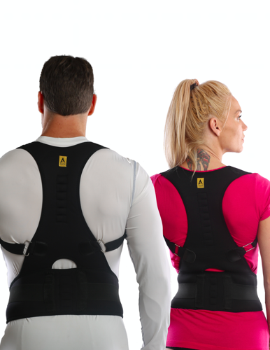 Agon Back Posture Brace Features of / Corrector with lower Support Made extra soft padding Easy to use Moisture wicking