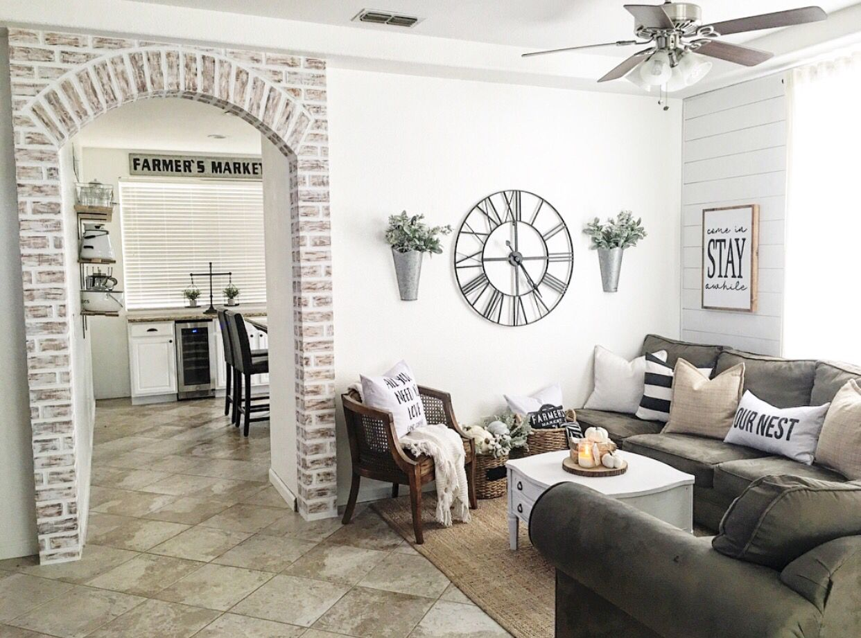 Faux brick // IG @nellyfriedel | Nelly Friedel | Home | Pinterest ...