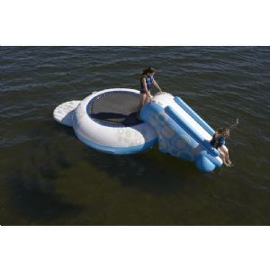 O-Zone XL Plus Water Bouncer 11.5' with Slide for $549.99 #WaterTrampolines #CozyDays