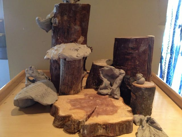 The Making of a Clay Fairy House