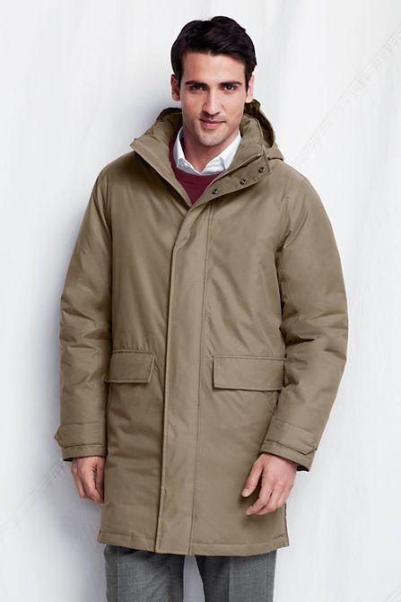 a41265a469 Men's Down Commuter Coat from Lands' End | WINTER | Lightweight ...